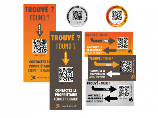 PACK 30 stickers à partager